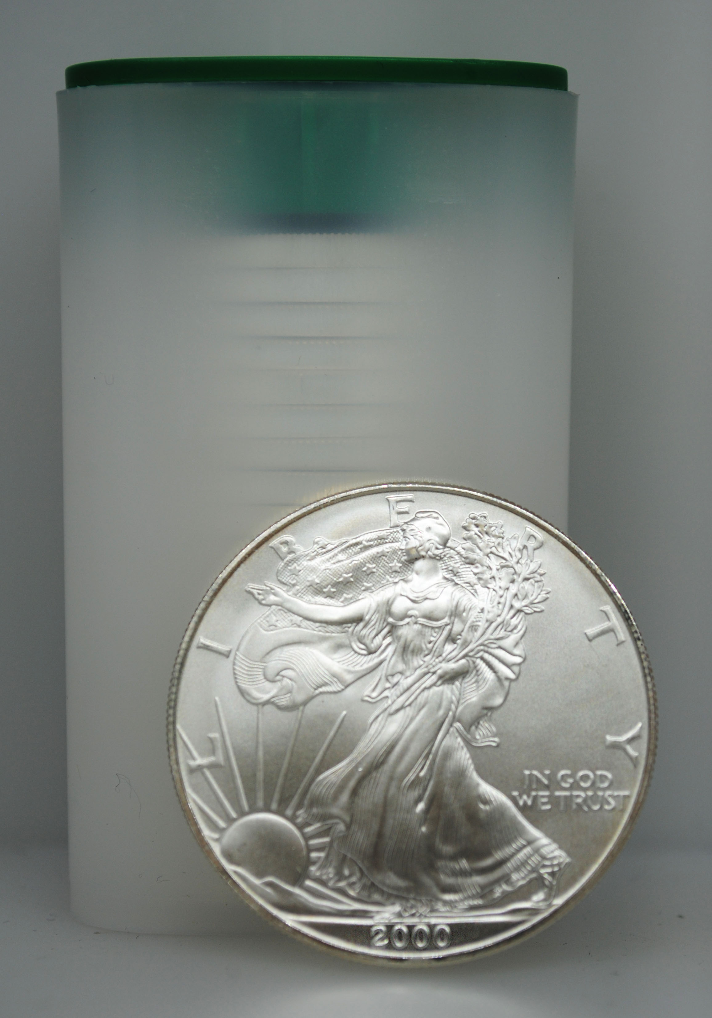 2000 Uncirculated Silver Eagles