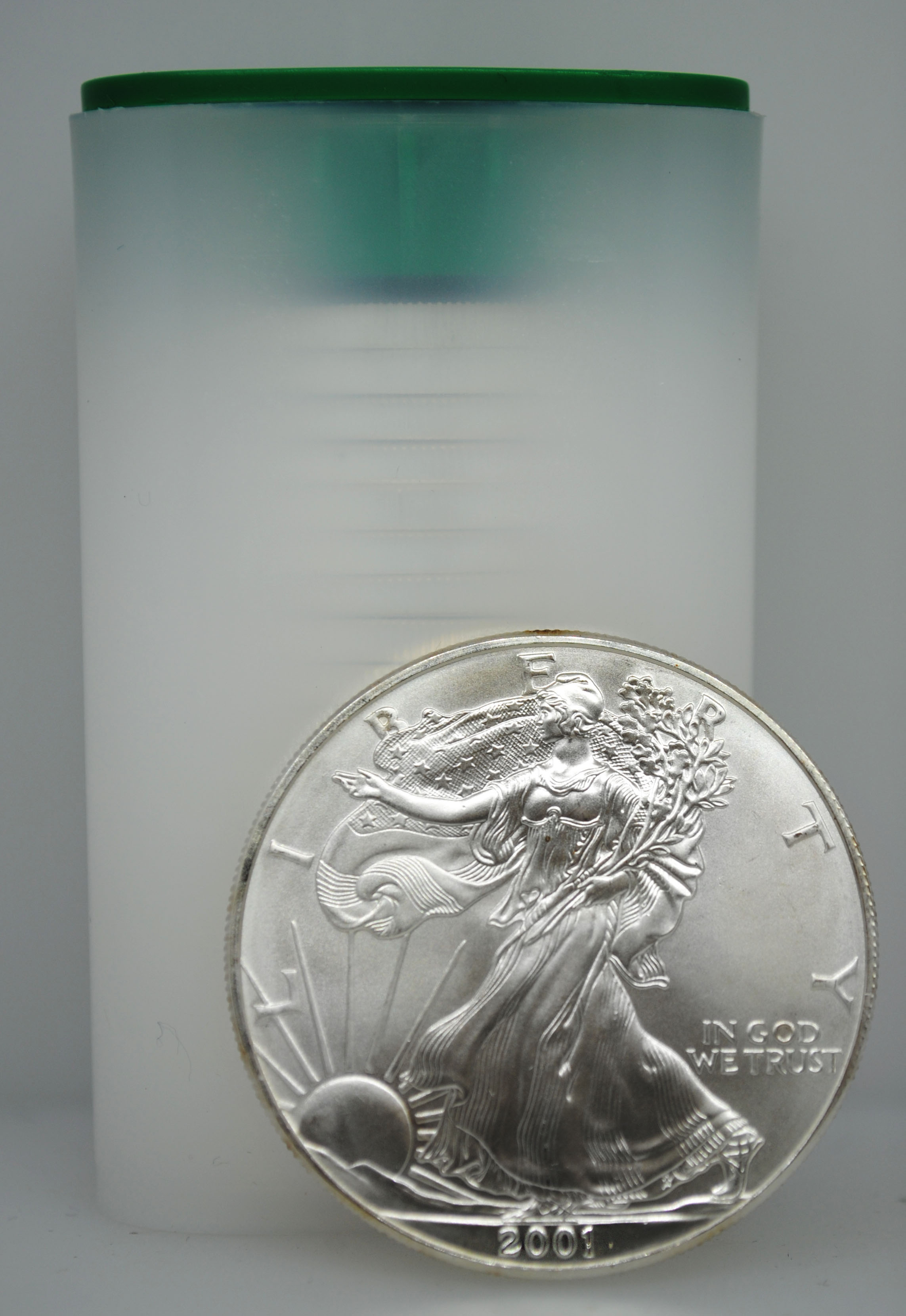 2001 Uncirculated Silver Eagles