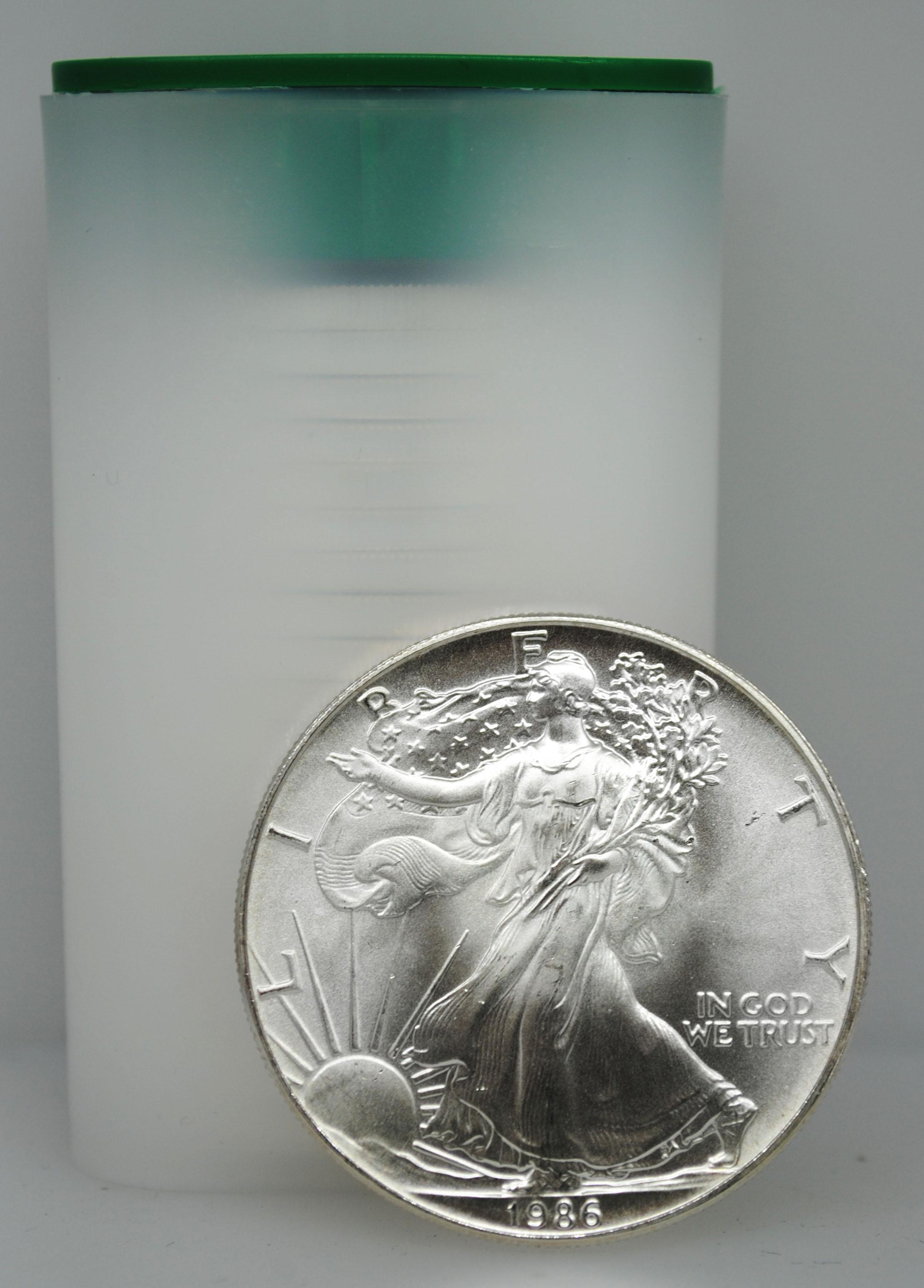 1986 Uncirculated Silver Eagle