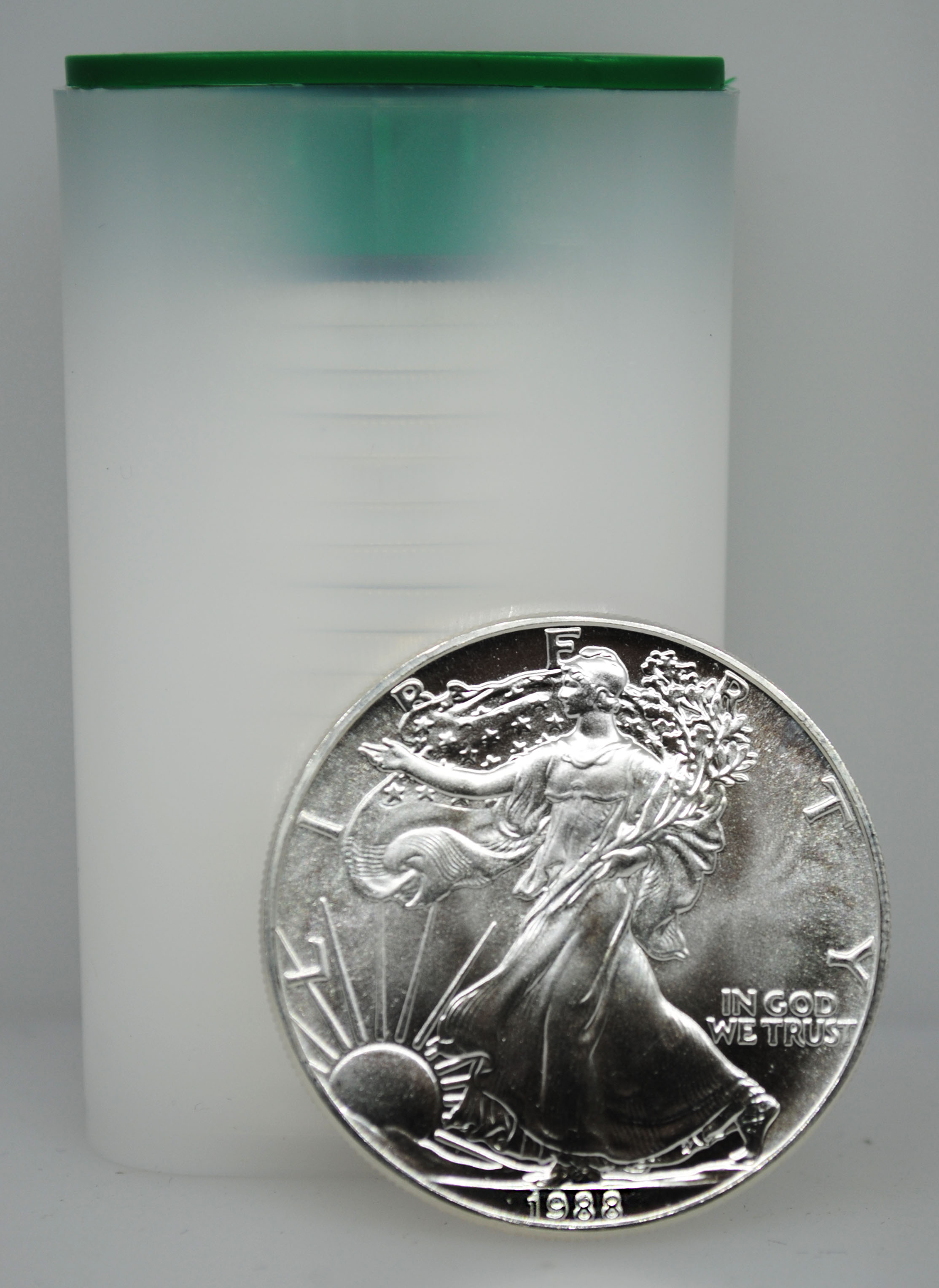 1988 Uncirculated Silver Eagles