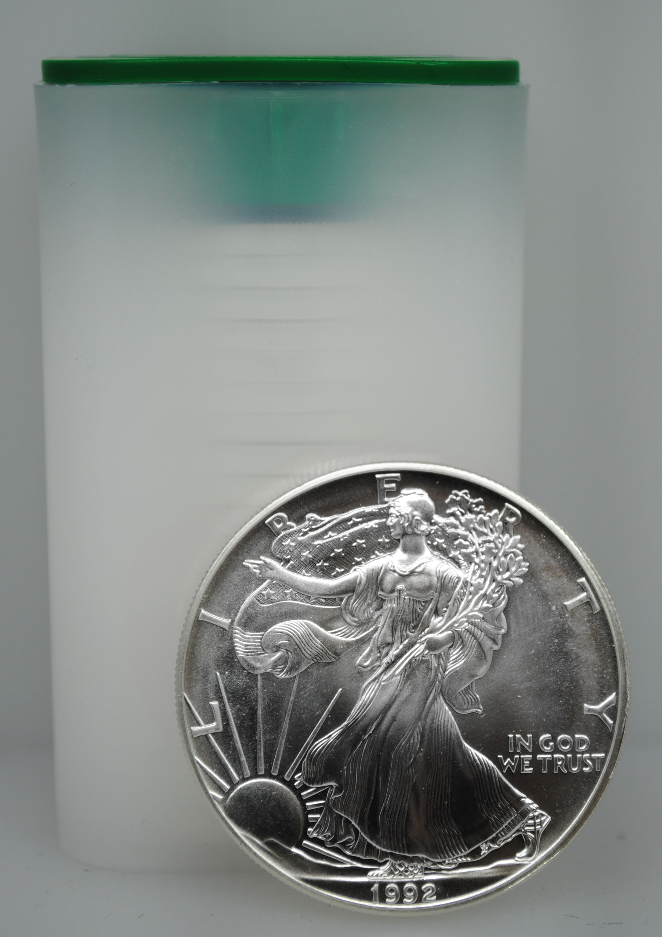 1992 Uncirculated Silver Eagles