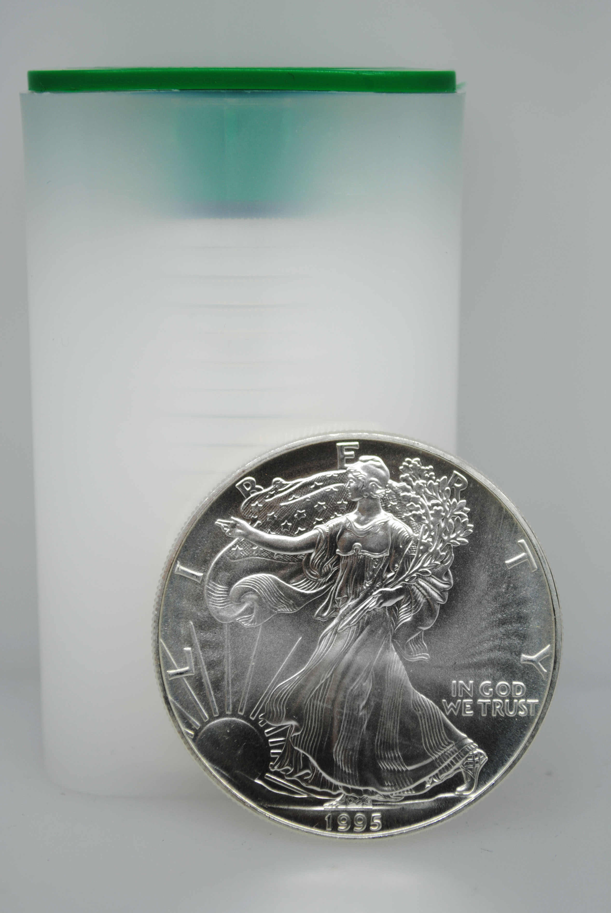1995 Uncirculated Silver Eagles