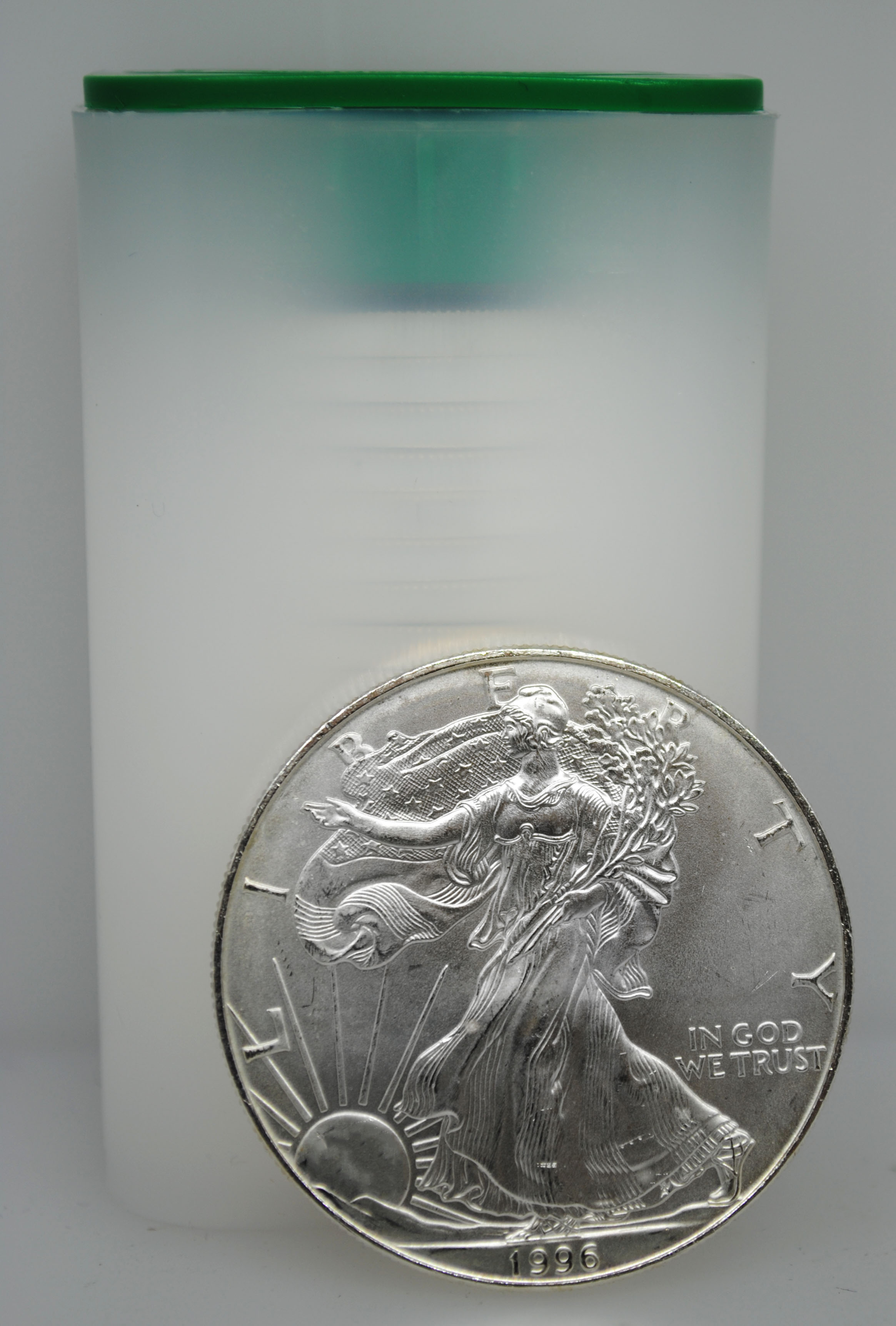 1996 Uncirculated Silver Eagles
