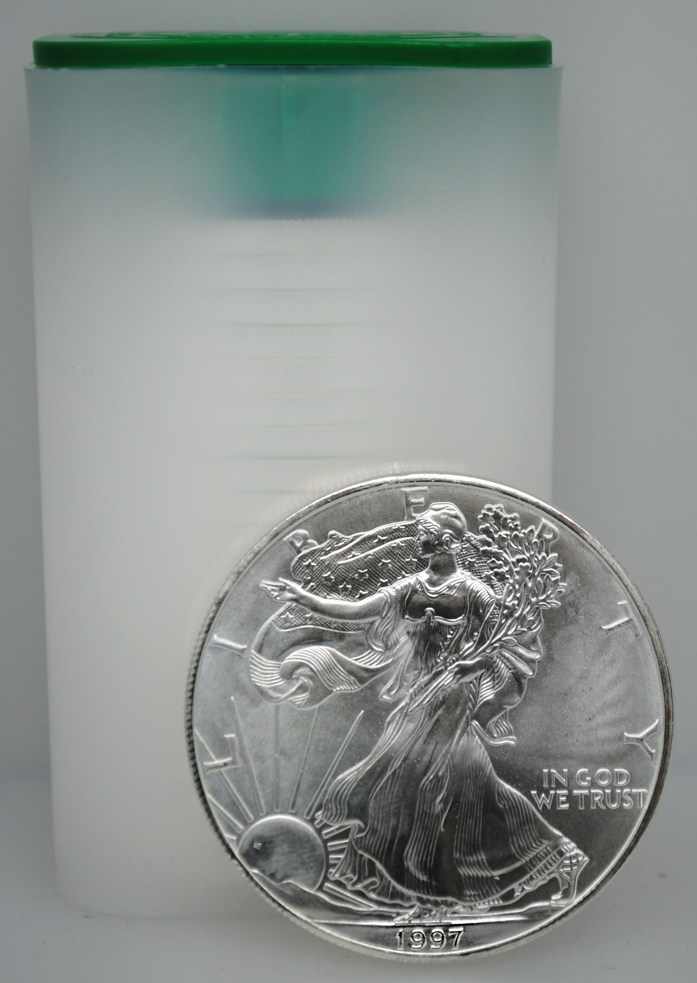 1997 Uncirculated Silver Eagles