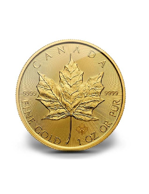 1 oz .9999 Gold Maple Leaf Various Dates
