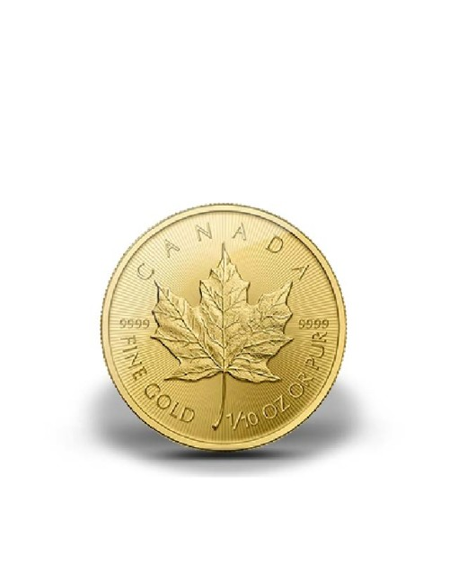 1/10 oz Gold Maple Leaf Various Dates