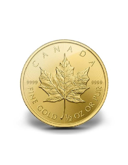 1/2 oz Gold Maple Leaf Various Dates