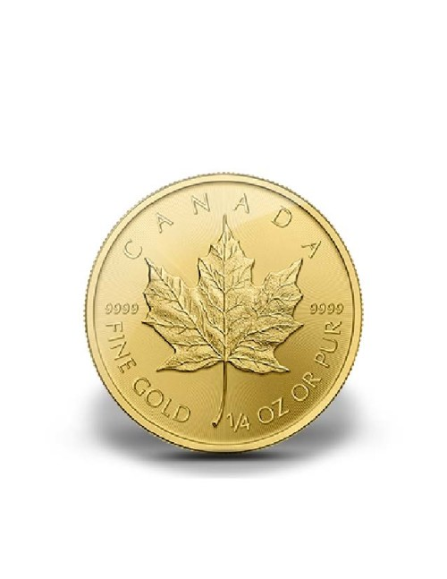 1/4 oz Canadian Gold Maple Leaf Various Dates