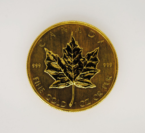 1 oz .999 Gold Maple Leaf Various Dates