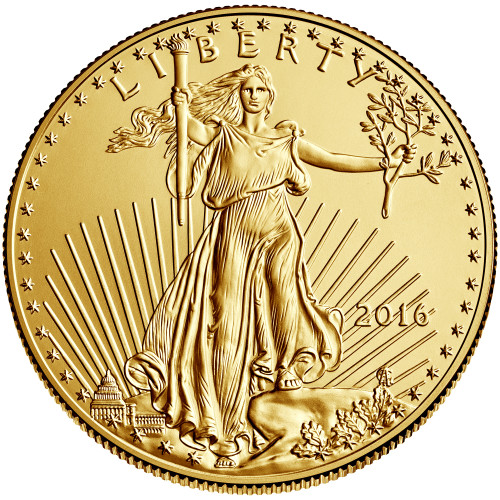 Uncirculated 1/10 oz Gold Eagle Various Dates