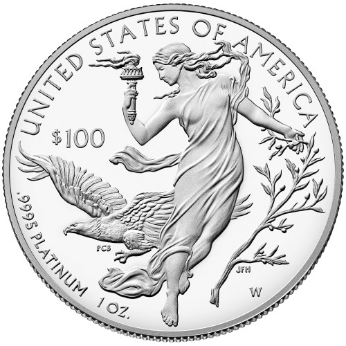 Proof Platinum Eagle With Box & COA Any Denomination
