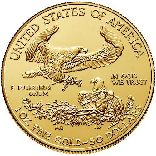 Uncirculated 1 oz Gold Eagle Various Dates