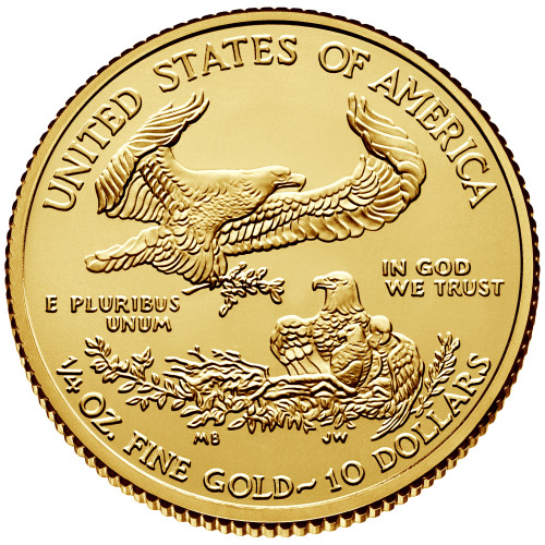 Uncirculated 1/4 oz Gold Eagle Various Dates